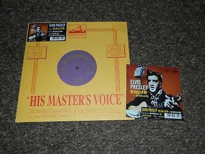 Elvis Presley My Baby Left Me 10 inch vinyl and Still Sealed CD re-issue MRS
