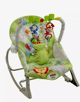 Fisher Price Rain Forest Rocker Chair Baby To Toddler