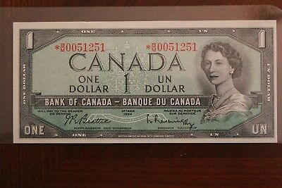1954 $1 notes Replacement *B/M0051251 BANB