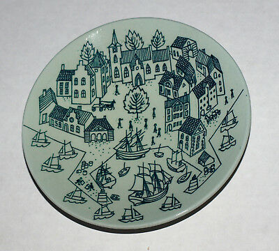 Nymolle Art Faience HOYRUP Made in Denmark Limited Edition 4006 Small Plate 4.75