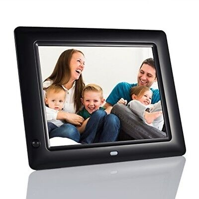 8 Inch Digital Photo Frame With Motion Sensor Remote Control Auto On/Off Timer