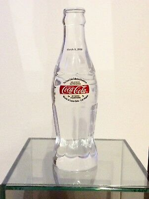 Coca Cola Bottle Crystal Collectors Roadshow Las Vegas 2002 Numbered 3 Of 48 !!