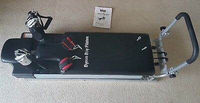 Pilates reformer with instructional booklet - barely used