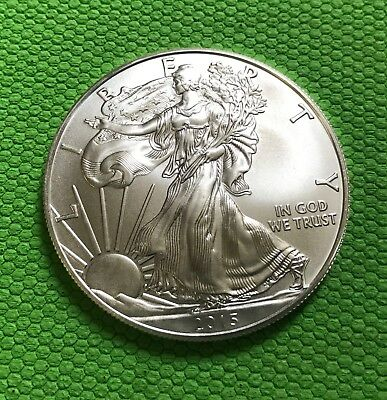 2015 1 oz .999 American Silver Eagle Bullion Coin