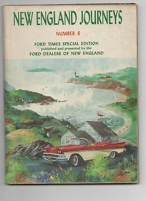 Three Ford New England Journeys Magazines