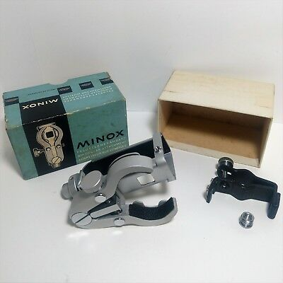 Minox Binocular Attachment w/ Clamp 60's Spy Camera Adapter AII AIII-S B C BL