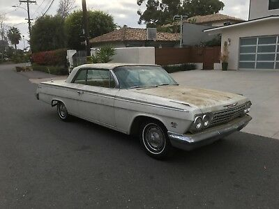 1962 Chevrolet Impala SUPERSPORT Rare 1962 CHEVROLET Chevy IMPALA SS 409 4 speed Dale Armstrong owned
