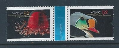 Canada #2205ai #2205i Horizontal Pair With Gutter Variety MNH **Free Shipping**