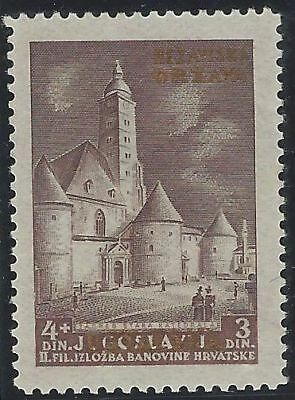 1941 (10 May). Provisional Issue. 4+3D PERFORATION VARIETY L11½. M Wieneke cert.