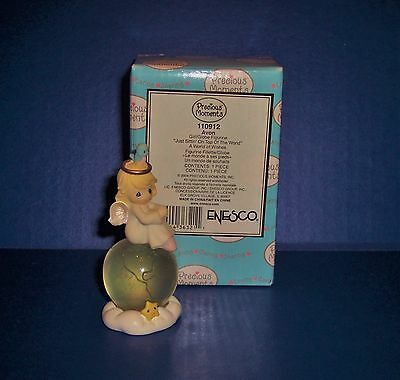 Precious Moments  Avon  Just Sittin' on Top of the World 110912  New in Box