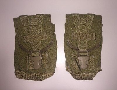 Lot of (2) Eagle Industries Canteen/General Pouch, Khaki CTP-1L-MS