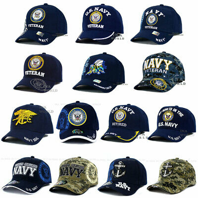 9ccb5cbf52e U.S. NAVY hat USN Military NAVY Official Licensed Embroidered Baseball cap