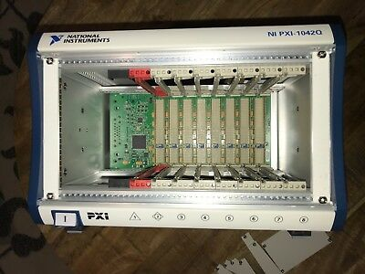 National Instruments NI PXI-1042Q, PXI Mainframe (new) with filler panels