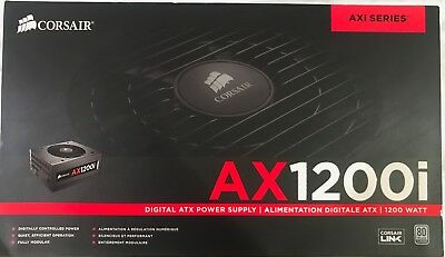 Corsair AX1200i Digital Power Supply w/ all cables and original packaging