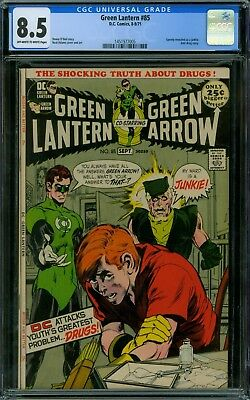 Green Lantern 85 CGC 8.5 - OW/W Pages