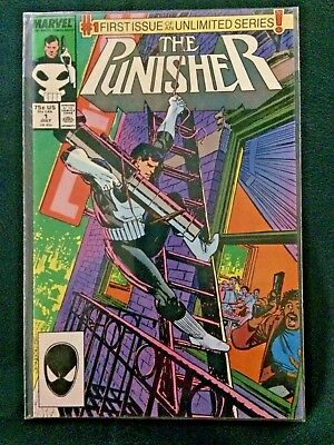 The Punisher #1 (Jul 1987, Marvel) VF/NM Condition