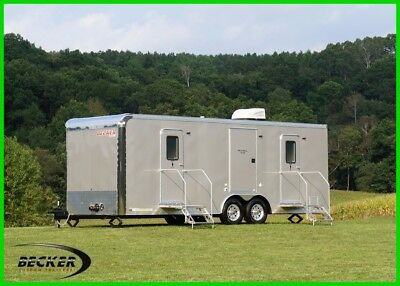 In Stock! 2018 24' Luxury Mobile Restroom - Bathroom Trailer - Free Shipping!