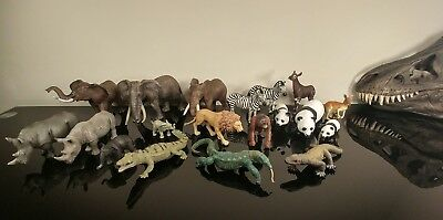 Schleich lot of African,Asian& Australian Animals Rare & Retired