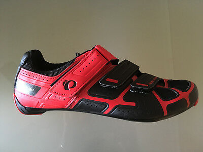 Road Cycling Shoes Pearl Izumi 43 44 Red/black, Brand New,