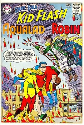 The Brave & The Bold # 54 NM 9.4 Unrestored 1st APP of Teen Titans no reserve