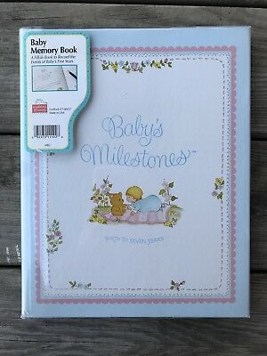 VTG Baby Book Milestones by Stepping Stones Birth to Seven Years New Shower Gift