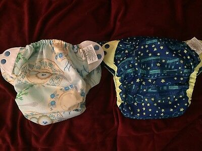 Bumgenius Bum Genius elemental diapers - mozart and austen - pre-loved
