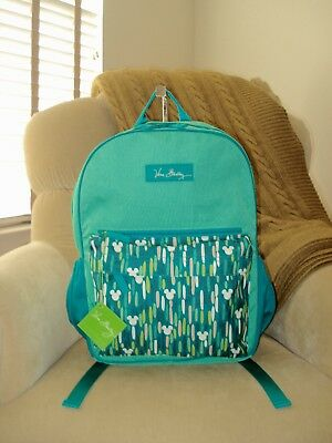 NWT Auth VERA BRADLEY Disney Parks Mickey Showers 15912-885 Colorblock Backpack