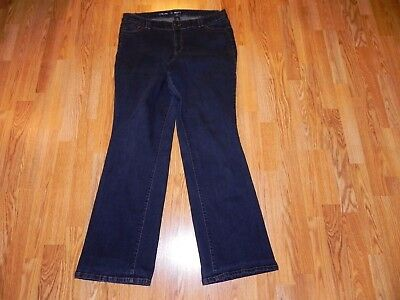 Lane Bryant Boot Cut Blue Jeans Women's Size 16 Tall - Great!