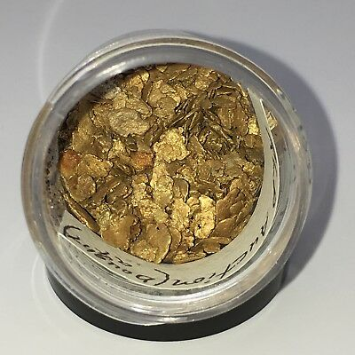 Gold Alaskan Placer Gold  ****  1.246 Troy Ounces Gold