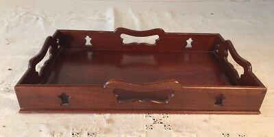 Small Wood Tray By Kittenger For Colonial Williamsburg