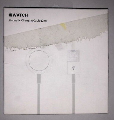 Genuine Apple Watch 2M Magnetic Charging Cable MJVX2AM/A White Brand New