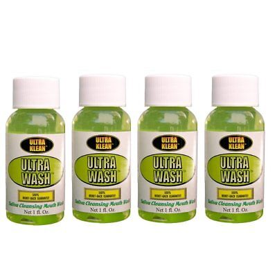 4X Ultra Klean Toxin Cleansing Mouth Wash     Detox