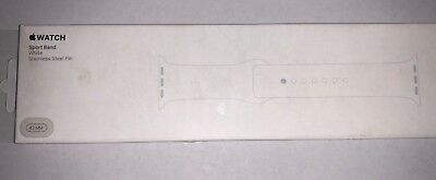 Apple Watch Sport Band White Color 42mm Genuine Apple New MQ3Q2AM/A