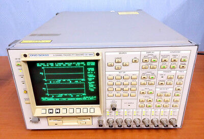 Ono Sokki CF-880 Tracking FFT Analyzer [#B1]