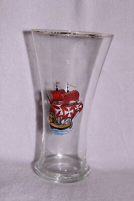 Nautical Beer Glass