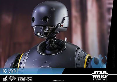 Star Wars~Rogue One~K-2So~Rebel Droid~Sixth Scale Figure~Hot Toys~Mib