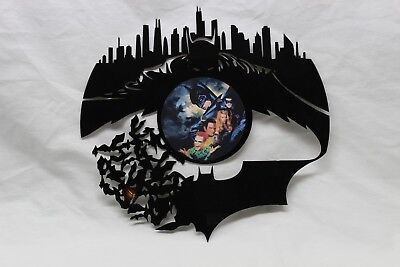 "Batman Custom Wall Art Cut From A 12"" LP Record"