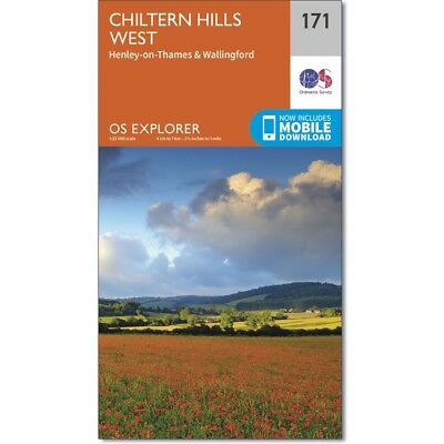 OS Explorer Maps: The Chiltern Hills  - 3 map set  171 172 & 181