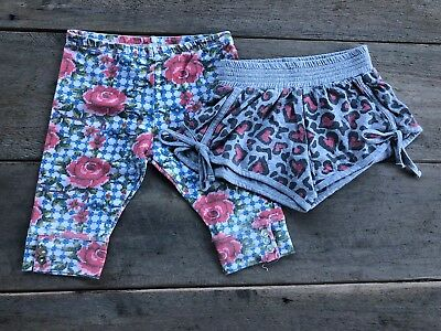 Paperwingw Girls Size 4 Shorts