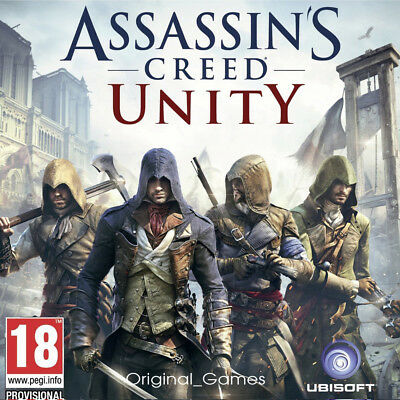 Assassin's Creed Unity uplay cd Key PC GLOBAL Full Game