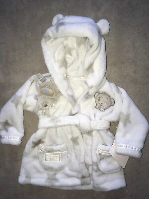 Bnwt Matalan Tiny Tatty Teddy Dressing Gown - Age 3/6 Months