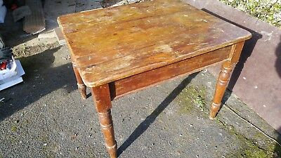 Pine Table for Restoration