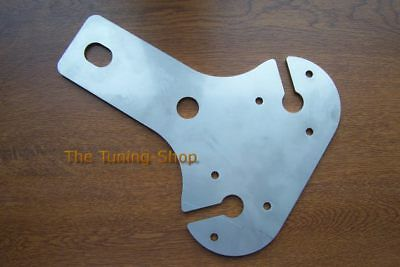 STAINLESS STEEL 4mm DOUBLE TOW BAR 13 PIN SOCKET MOUNTING PLATE For NISSAN