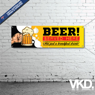 Beer Mancave Banner - Man Cave Bar MB VB Can Shed Funny Fridge Great Northern