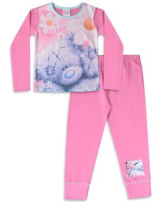Girls Official Me To You Pyjamas PJs Set Size Age 5-6 Years