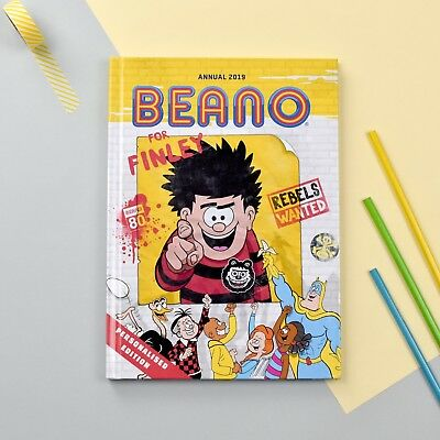 Personalised Beano Annual 2018 Book-  Gift Boxed - Softback Children Beano Book