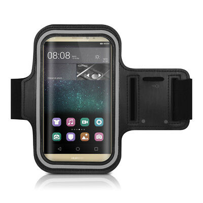 Sport Armband For Huawei Mate S Key Tray Black Running Jogging Mobile Phone