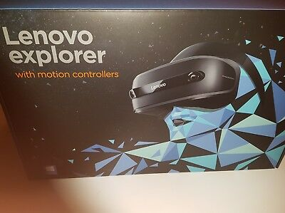 Lenovo explorer with motion controllers vr