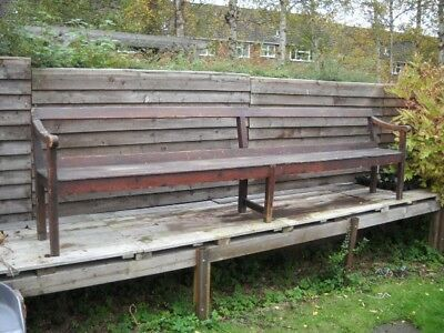 3 X  Antique Pine Garden Bench's 3050 mm long pre victorian