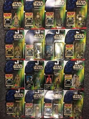 Rare Star Wars Power Of The Force Action Figure X36 Job Lot Bundle Unopened1995